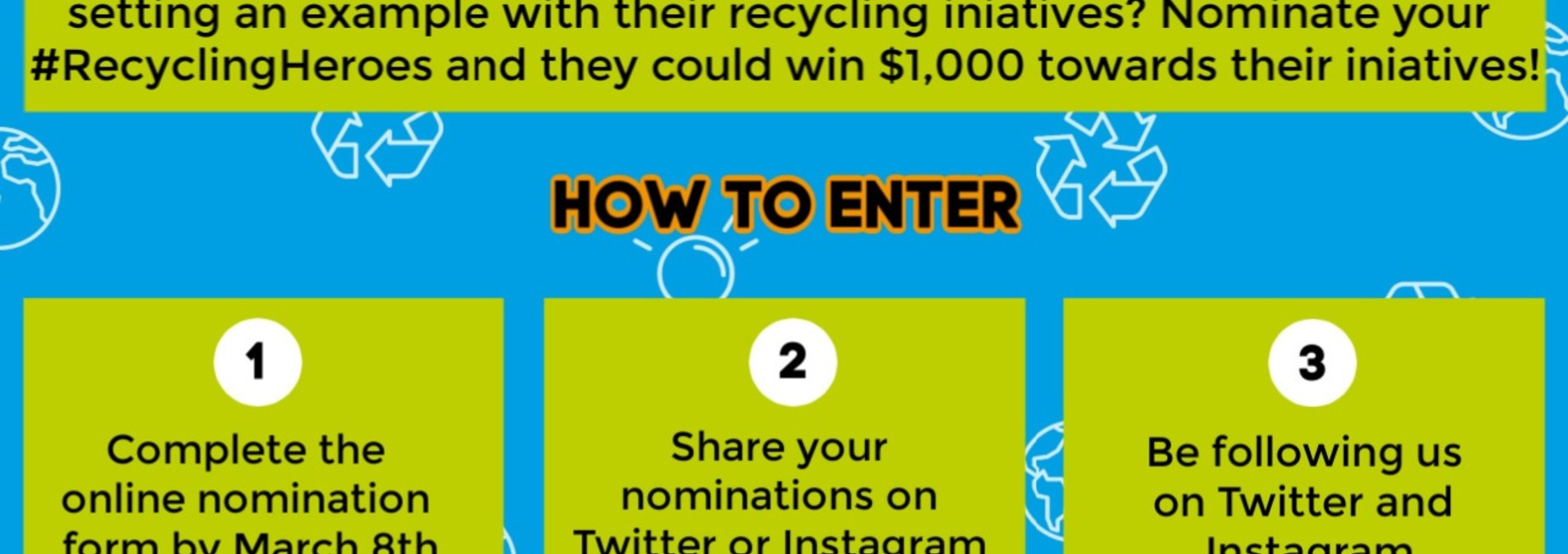 The Global Recycling Foundation wants you to nominate your # ... Image 1